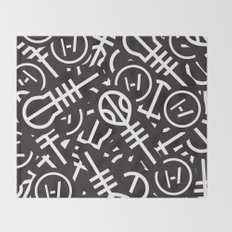 TØP Stickers Throw Blanket