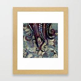 Metallic Ocean II Framed Art Print