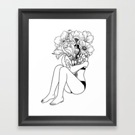 Love Myself Framed Art Print