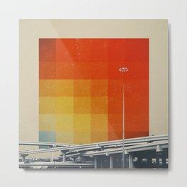 Orange Crush I Metal Print