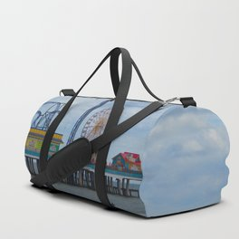 Pleasure Pier - Galveston Texas Duffle Bag