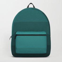 Winter Dark Blue Turquoise Backpack