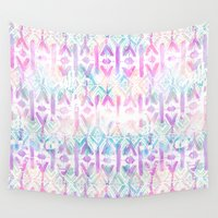 amelie Wall Tapestries featuring Amelie {Pattern 6A} by Schatzi Brown