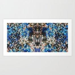 Rorschach Flowers 11 Art Print