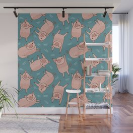 Pattern Project #52 / Piglets Wall Mural