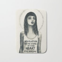 revolution girl Bath Mat