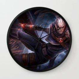 Hired Gun Lucian League of Legends Wall Clock