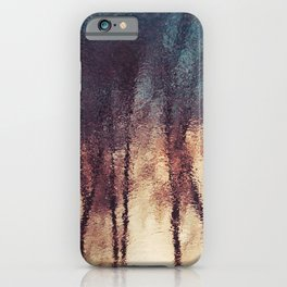 Water Reflections Abstract Art iPhone Case