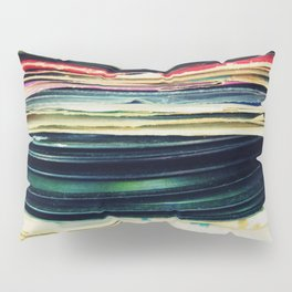 put your records on Pillow Sham