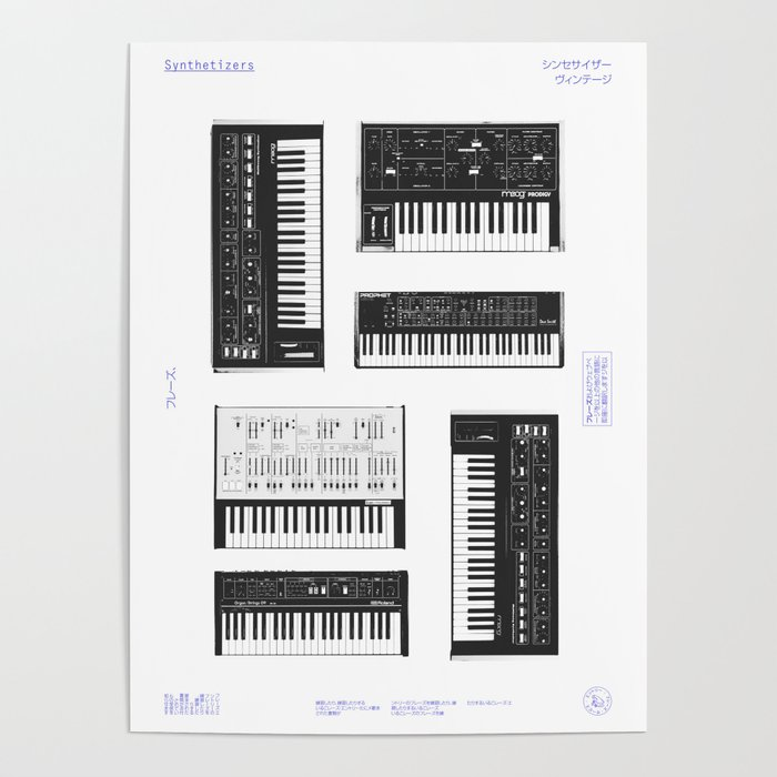 Collection  Synthetizers