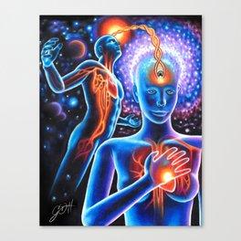 Finding Light Canvas Print