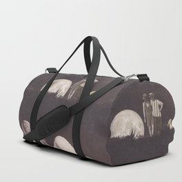 Moon on a meadow vintage 1920s Duffle Bag