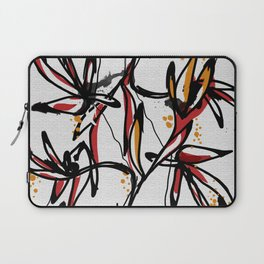 Tropical white Laptop Sleeve