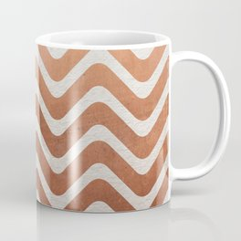 Copper and Paper Coffee Mug