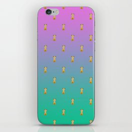 A thousand sitting dogs iPhone Skin