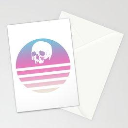 Retro Design Skull #1 Stationery Cards