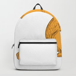 Quokka Drawing Color Backpack