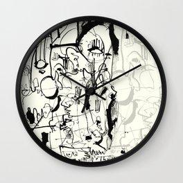 Inside the Mind Wall Clock