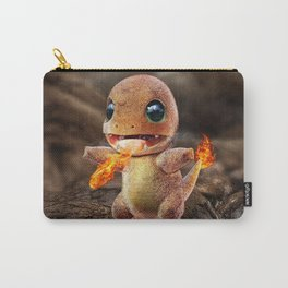 Realistic Charmandar Carry-All Pouch