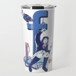 F book Travel Mug