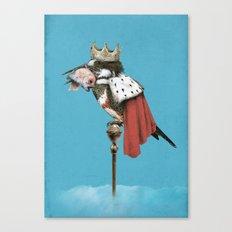 Kingfisher (Blue Option) Canvas Print