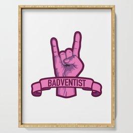 Badventist Serving Tray
