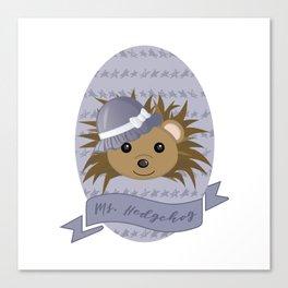 Ms. Hedgehog Canvas Print