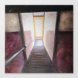 Winston-Salem Stairwell Canvas Print