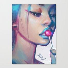 Lolipop Canvas Print