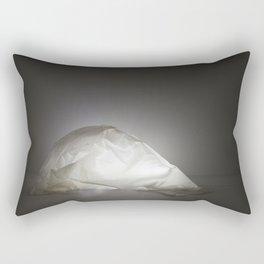 Glowing Glue Shell Rectangular Pillow
