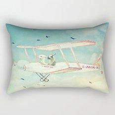 Never Stop Exploring III - THE SKY Rectangular Pillow