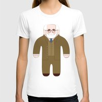 freud T-shirts featuring Sigmund Freud by Late Greats by Chen Reichert