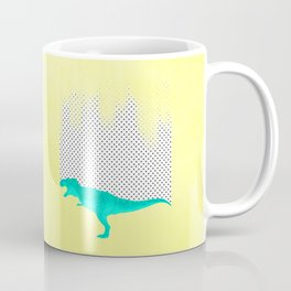 dino got the blues, or not! Coffee Mug