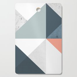 Modern Geometric 12 Cutting Board