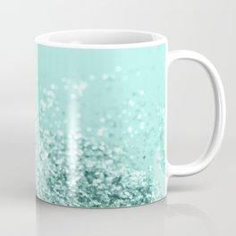 Summer Vibes Glitter #7 #mint #shiny #decor #art #society6 Coffee Mug