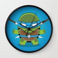 leonardo Wall Clocks featuring Leonardo by LAckas