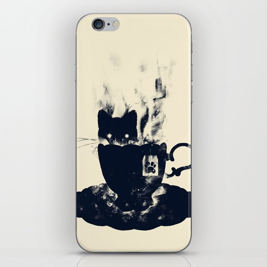 Having Tea With my Lovely Cat iPhone & iPod Skin