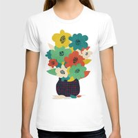 matisse T-shirts featuring Paper Flowers by Picomodi