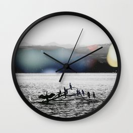 Dreams - Nature Photography art. Wall Clock