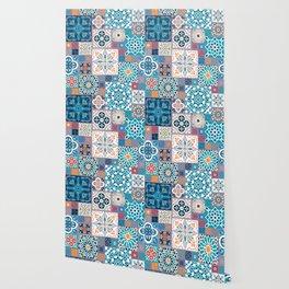 Geometric tiles Wallpaper