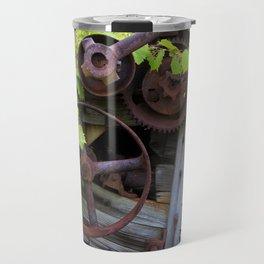 Overgrown Machinery Travel Mug