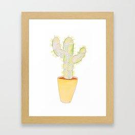 """Act up Cacti"" Framed Art Print"