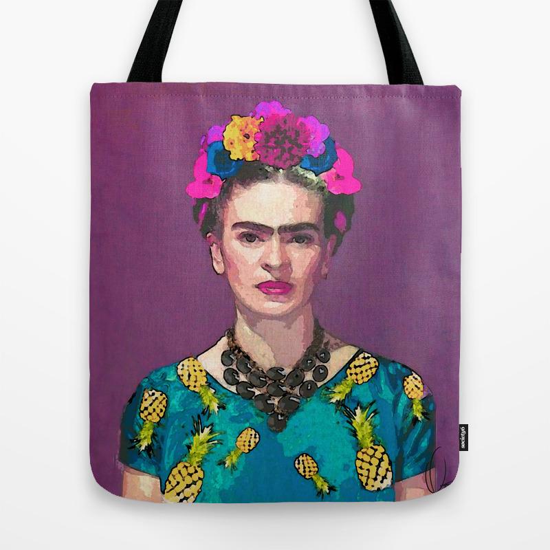 aa3215123 Trendy Frida Kahlo Tote Bag by xchangestudio | Society6