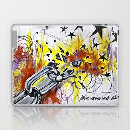 Turn Scars To Stars... Laptop & iPad Skin
