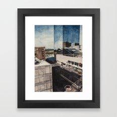 Downtown Grand Rapids, MI Framed Art Print