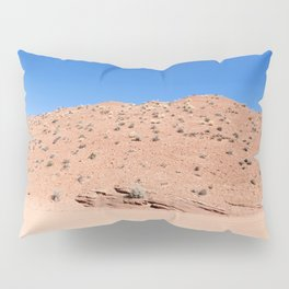 Four-Wheel-Driving Through the Pinks and Blues of Antelope Canyon 04 Pillow Sham