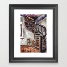 The church of sorrow: Bremblens Framed Art Print