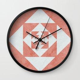 this desert flower Wall Clock
