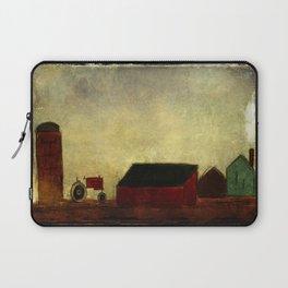 Americana Barnyard with Tractor Laptop Sleeve