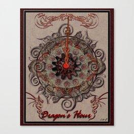 Dragon's Hour Canvas Print